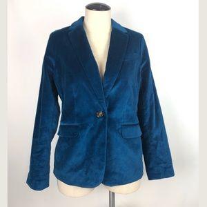 Talbots Velvet Blue Blazer